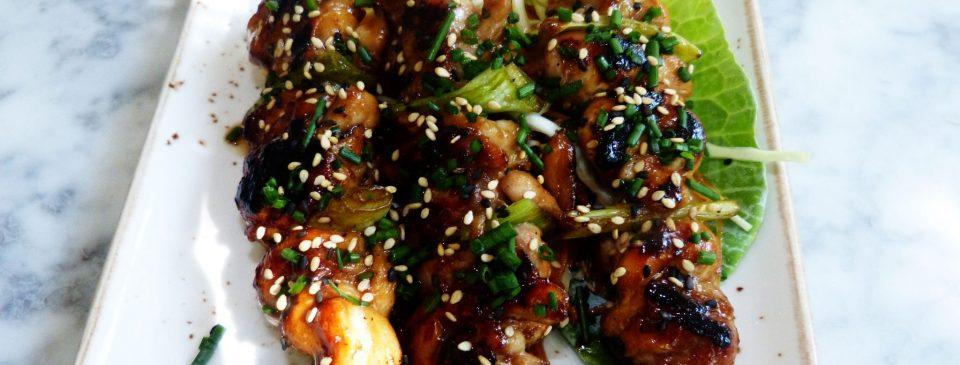 Las recetas de Sushita:Brochetas-de-pollo.