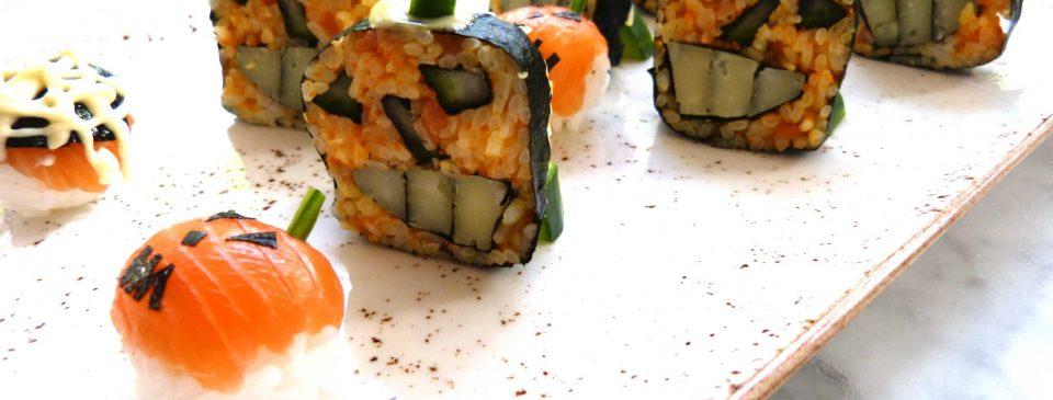 Las recetas de Sushita: Makis de Halloween
