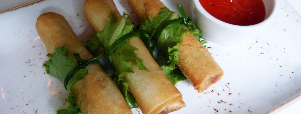 Las recetas de Sushita: Rollitos de Verdura.