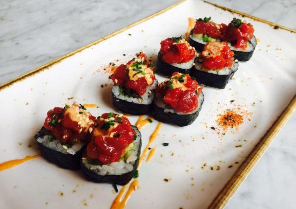maki roll spicy tuna
