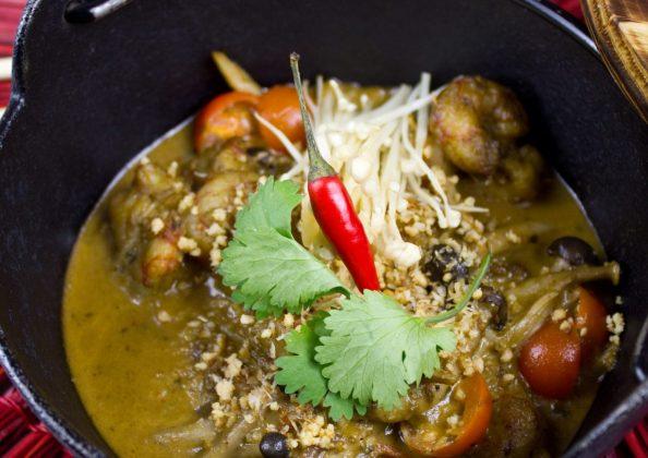 gambon al curry panang sushita