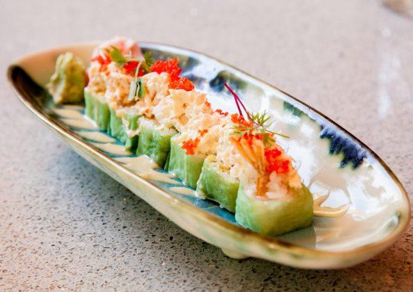maki roll king crab sushita