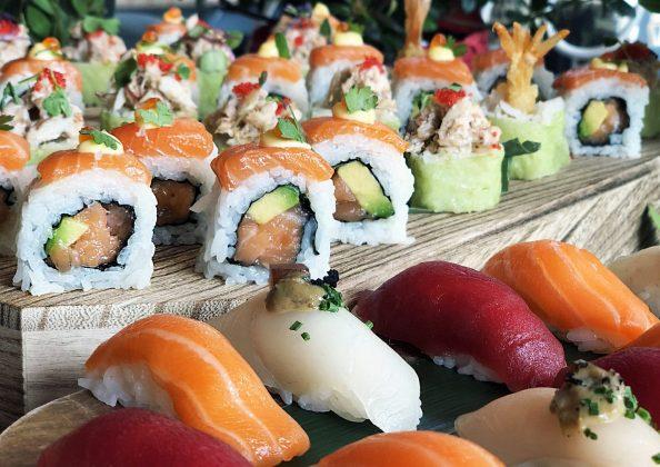 elaboración de sushi